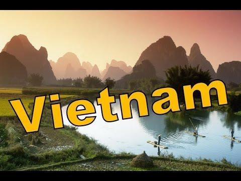 Вьетнам. Путешествие по Вьетнаму. Природа в провинции Нинь-Бинь. (видео)