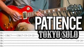 Guns N'Roses - Patience Tokyo SOLO Lesson by Slash (With Tab)