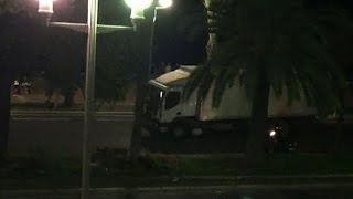 Nice France  city images : Video shows truck plowing into crowd in Nice, France