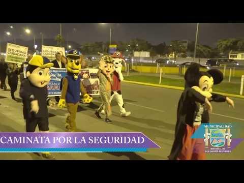 CAMINATA POR LA SEGURIDAD CIUDADANA - Municipalidad de SMP