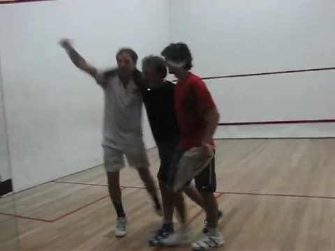 squash final 2012 1 11 #1 Resta vs Falzoi – Ultimo game del partido.