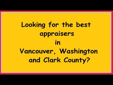 Vancouver, Washington Appraiser – Clark County Appraisal – A Quality Appraisal