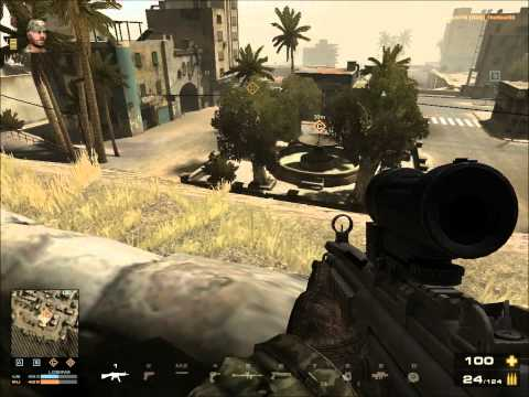 Battlefield Play4Free Gameplay MP5+M145 Sight