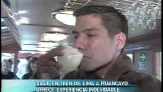 Línea transandina Lima - Huancayo