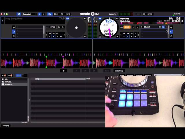 Serato FLIP - First Look and Demonstration