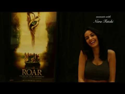 Nora Fatehi - Exclusive Interview On Her Debut Film, Roar