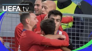 Download Video Youth League highlights: Atlético 4-0 Dortmund MP3 3GP MP4