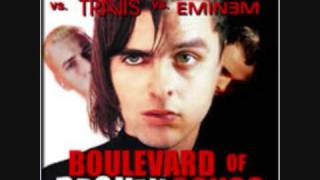 Green Day & Oasis & Travis & Eminem - Boulevard Of Broken Songs