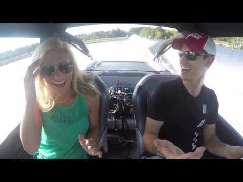 Joey Logano & WaterCar Featured on Fox Sports 1