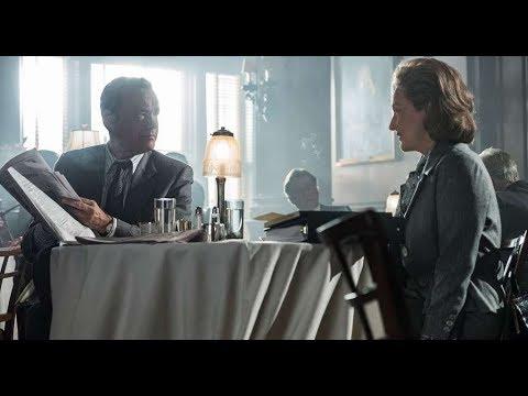 The Post | Meryl Streep Talks About Tom Hanks Featurette (2018)