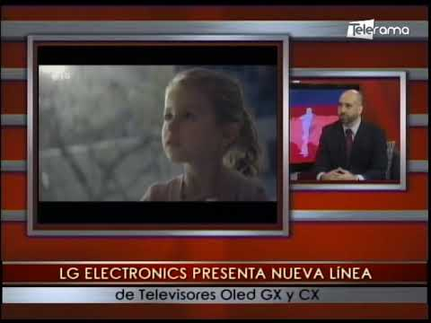 LG Electronics presenta nueva línea de televisores Oled GX y CX