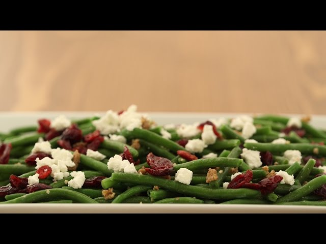 Extra Fine Green Beans with Honey Pecans & Cranberries