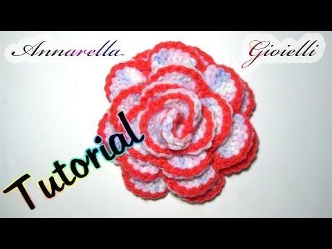 tutorial - come realizzare un fiore all'uncinetto in modo semplice
