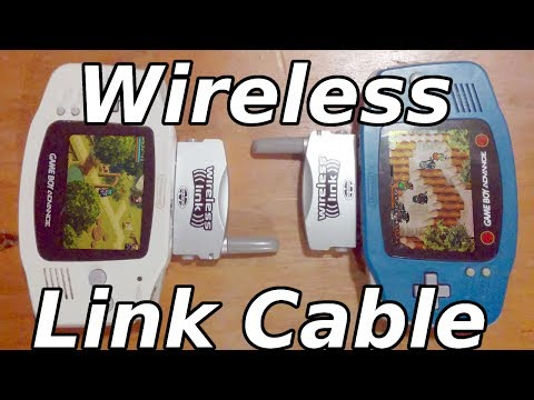 Finally a Wireless Link Cable?   GameBoy Advance Wireless Link In-depth Review!