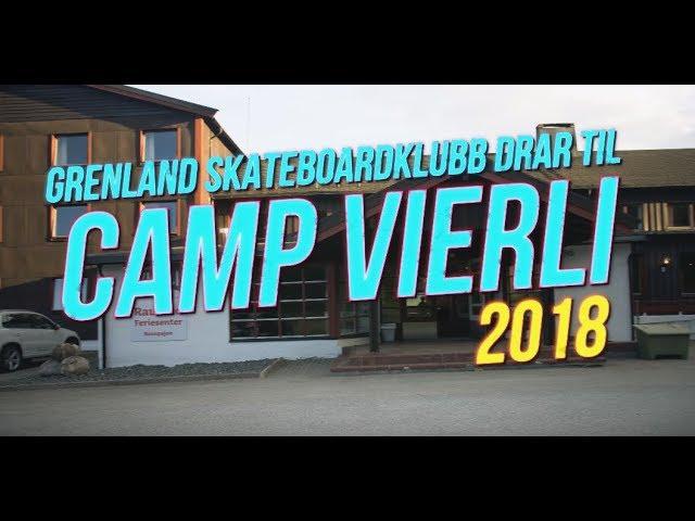 Grenland Skateboardklubb på Camp Vierli Juni 2018