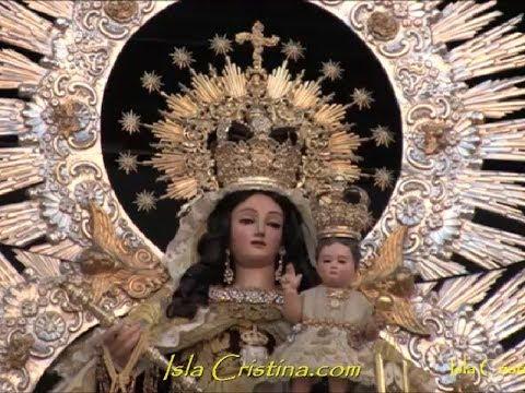Tradicional Ofrenda de Flores Nuestra Señora del Carmen. Isla Cristina