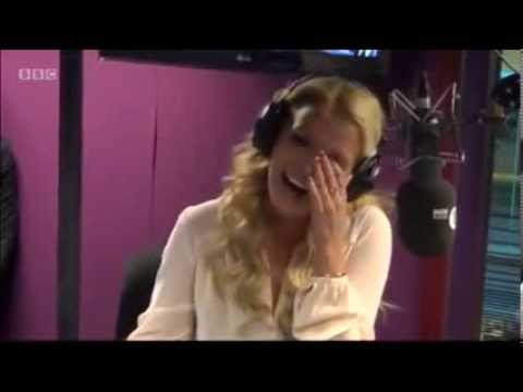 Britney Spears having fun at BBC Radio 1 UK Interview – 2013