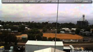 10 January 2015 - South Facing WeatherCam Timelapse - KanivaWeather.com