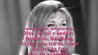 du dalida en breton dans le text.