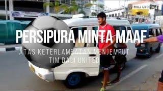 Video Persipura Minta Maaf ke Bali United 'Sampai Naik Angkot' MP3, 3GP, MP4, WEBM, AVI, FLV Oktober 2017