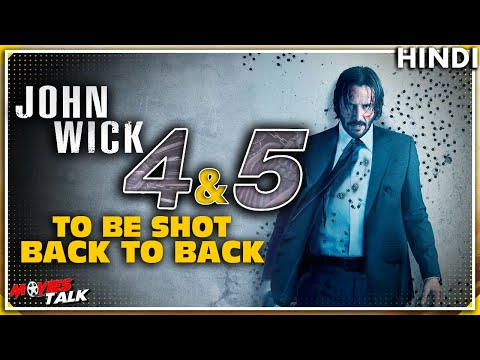 JOHN WICK : 5 Announced to Film Back-to-Back With 4 Part & More Details [Explained In Hindi]