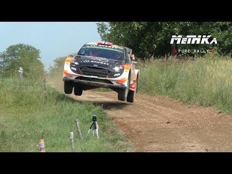 Ostberg / Flone   Tests   WRC Rally Poland 2017