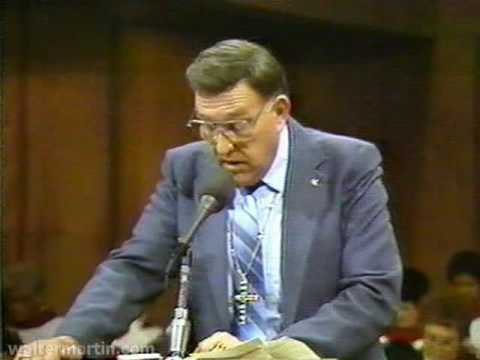 Dr. Walter Martin – Part 1 of 2 – Cult of Liberal Theology 1987