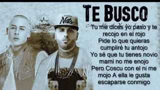 Video Te Busco   Cosculluela Feat  Nicky Jam (letra) MP3, 3GP, MP4, WEBM, AVI, FLV September 2019
