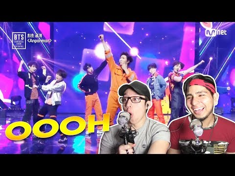 GUYS REACT TO BTS (방탄소년단) 'Anpanman' (COMEBACK SHOW)