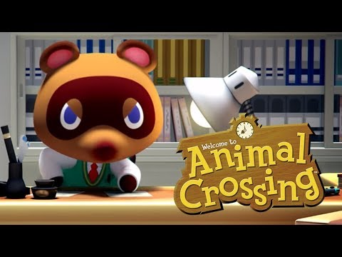 ANIMAL CROSSING 2019 SWITCH REACTION! - Nintendo Direct [13/09/18]