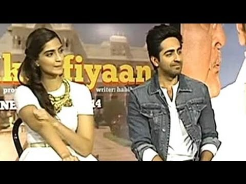 be - Speaking to NDTV about her upcoming film 'Bewakoofiyaan', Sonam Kapoor says that one has to be a 'bewakoof' to fall in love. Ayushmann Khurrana adds that the...