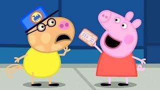 Peppa Pig Português Brasil 🚂 O PASSEIO DE TREM ⭐️ Compilação de 2019 ⭐️ Peppa Pig