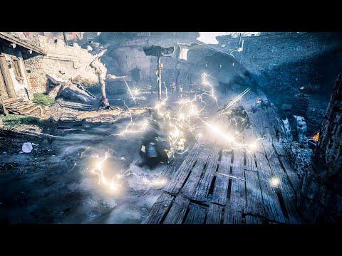 Assassin's Creed Valhalla - Thor's Hammer & Excalibur Sword Dual Wielding Combat Gameplay