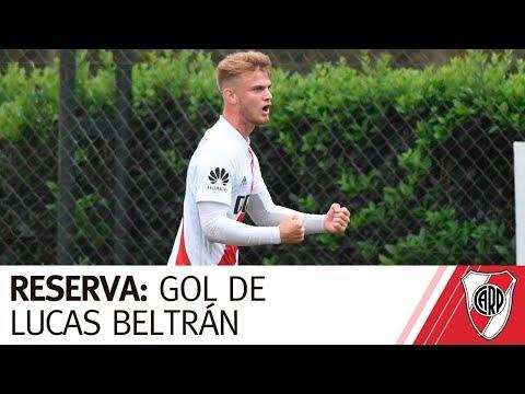 Reserva: Gol de Lucas Beltrán vs. Unión