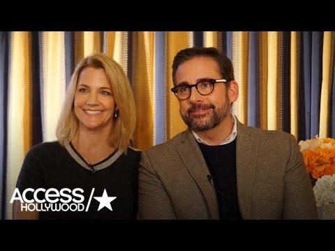 Nancy & Steve Carell: How They Came Up With 'Angie Tribeca'   Access Hollywood