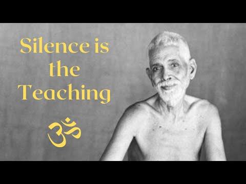 Teachings Of Ramana Maharshi: You Are the Silence Beyond Silence