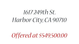 1617 249th St. Harbor City, CA 90710