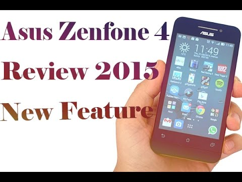 Asus ZenFone 4 Review New 2015 - Phone Review on Hand