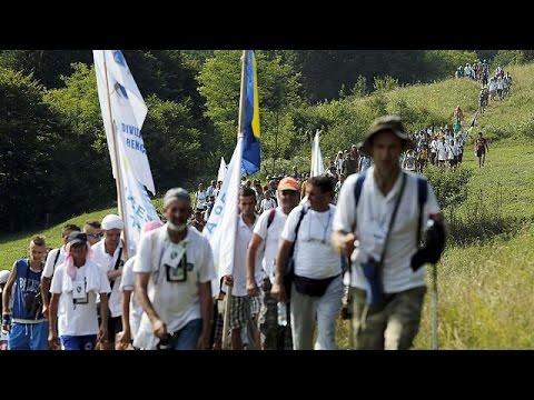 Σρεμπρένιτσα: Πορεία μνήμης στο «μονοπάτι της ειρήνης»
