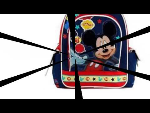 Video New YouTube Video of the Mickey Mouse Backpack