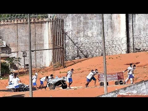 Ταραχές με δεκάδες νεκρούς σε φυλακή της Βραζιλίας