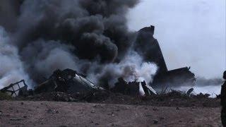 Ethiopian Military Plane Crashes In Mogadishu