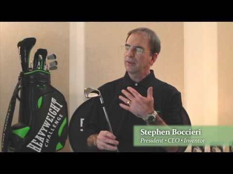 Boccieri Golf - Heavy Swing Clubs Informational Video