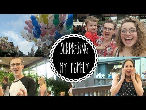 Surprising My Family In DisneyWorld  Dear Tom&Gi