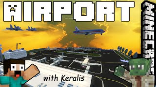 Minecraft Inspiration Series with Keralis - Airport