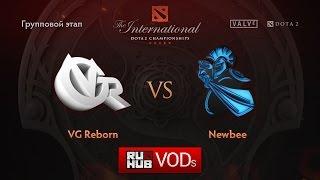 NewBee vs VG Reborn, game 1