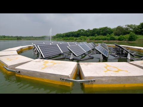 Floating solar power plant is a new and emerging concept in India. 