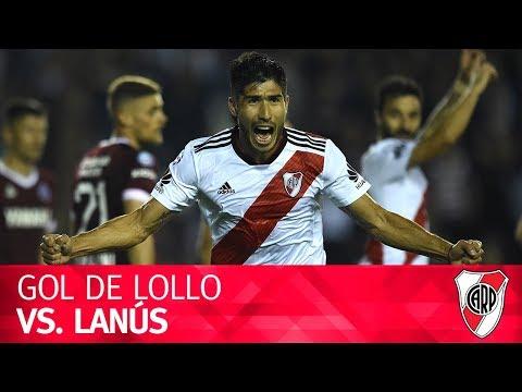 Gol de Luciano Lollo vs. Lanús