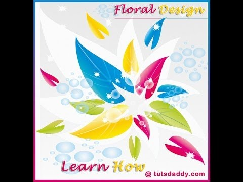 CorelDraw Tutorial : Floral Logo Design