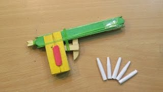 How to make a Mini Pocket Gun That shoots (powerful Nano Pop stick  Gun ) - Easy Tutorials
